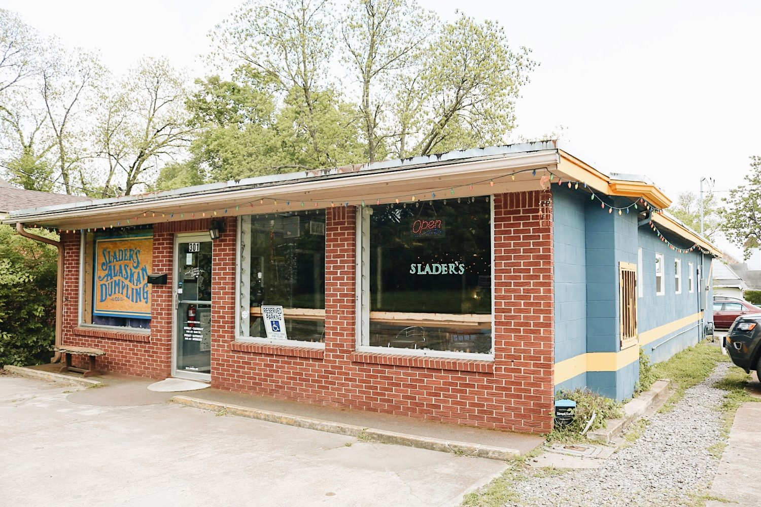 Shader's is in a quaint building just off the campus of Harding University, inside an old dry cleaners.