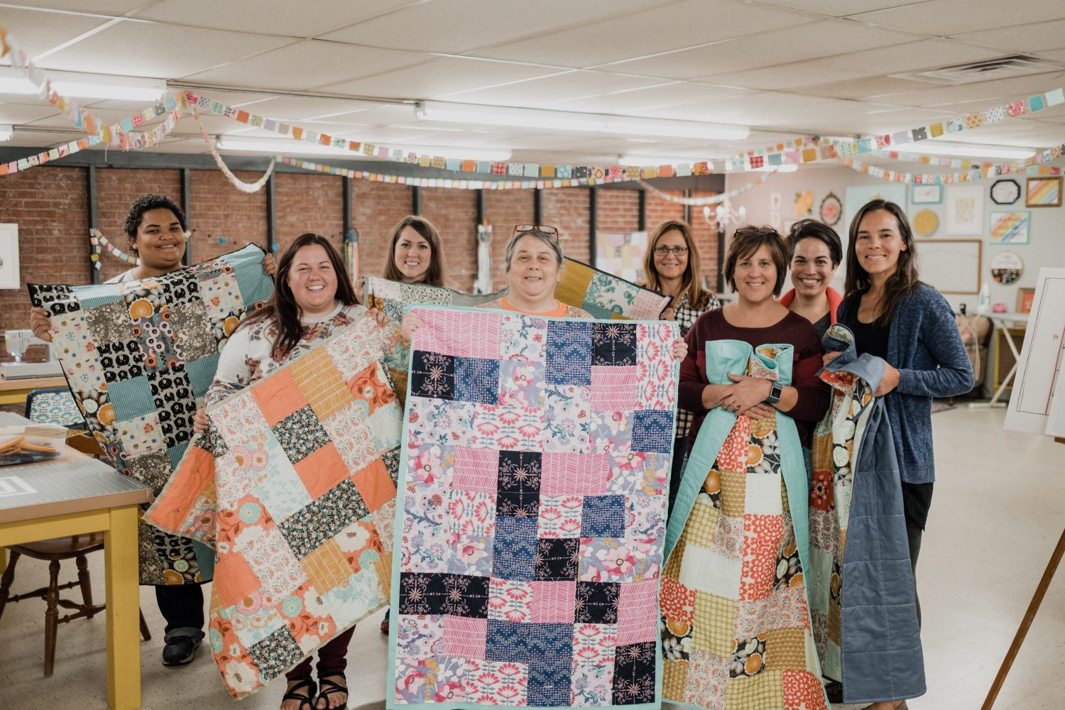 learn how to quilt at Make.Do