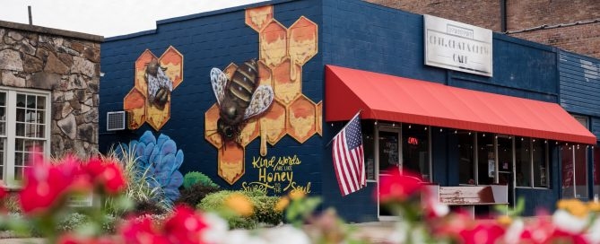 Chit, Chat, and Chew Cafe -- or C4 -- in downtown Searcy