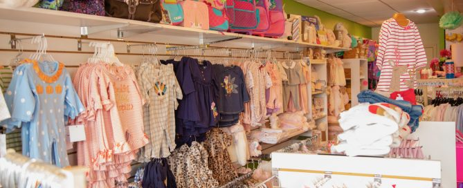 Find a great selection of clothes for the little ladies at Sassy Stitch