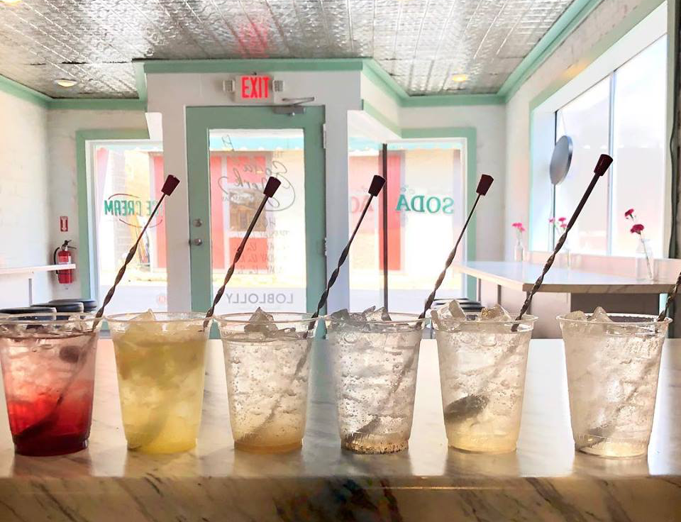Pick one from the menu or make your own soda creation at Soda Jerk