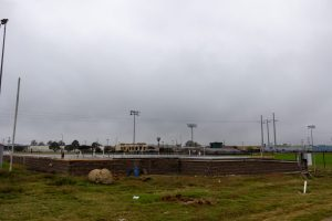 Construction continues on indoor soccer facility