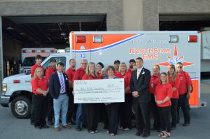 NorthStar EMS Donates to Unity Health Foundation Campaign