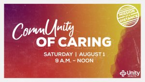 """Unity Health's """"A Day of Caring"""" changed to """"Community of Caring"""" for 2020"""