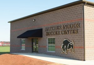 New soccer facility opens for practice
