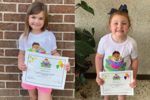 "Two children complete Searcy Public Library ""1,000 Books Before Kindergarten"" program"