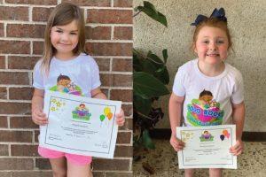 "Two children complete Searcy Public Library ""1,000 Books Before Kindergarten"" program"