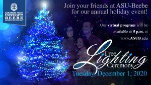 ASU-Beebe Invites Community to Virtual Tree Lighting Ceremony