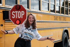 Harding Senior finds job as Searcy Public School bus driver